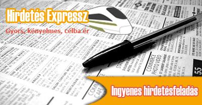 Ingyenes hirdetés feladás - apróhirdetés feladás ingyen - Hirdetés Expressz